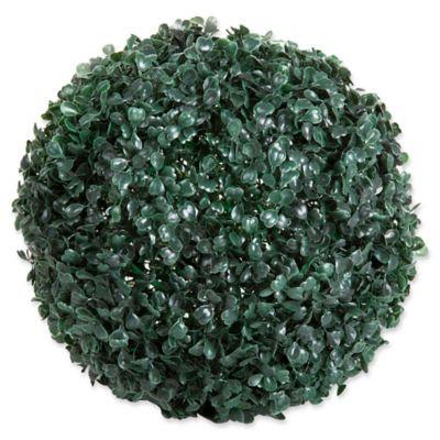 Pure Garden 11 Inc Round Topiary Solar Light Ball