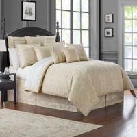 Waterford® Desmond Reversible Queen Comforter Set in Almond