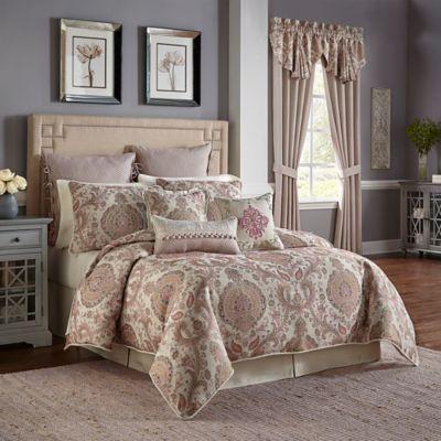 qvc product king cassarina comforter com california croscill set