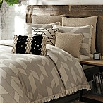 KAS Raina Full/Queen Duvet Cover in Linen