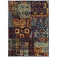 Oriental Weavers Andorra 6-Foot 7-Inch x 9-Foot 6-Inch Multicolor Area Rug