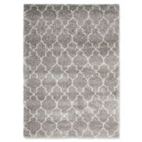Nourison Amore Amor2 3-Foot 11-Inch x 5-Foot 11-Inch Area Rug in Ash
