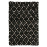 Nourison Amore Amor2 3-Foot 11-Inch x 5-Foot 11-Inch Area Rug in Charcoal