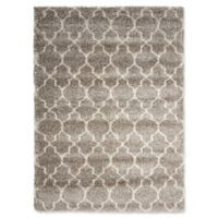Nourison Amore Amor2 5-Foot 3-Inch x 7-Foot 5-Inch Area Rug in Stone