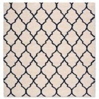 Nourison Amore Amor2 6-Foot 7-Inch x 6-Foot 7-Inch Area Rug in Ivory/Blue