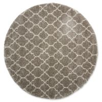 Nourison Amore Amor2 7-Foot 10-Inch Round Area Rug in Stone