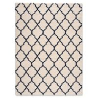 Nourison Amore Amor2 7-Foot 10-Inch x 10-Foot 10-Inch Area Rug in Ivory/Blue