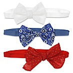 Capelli New York 3-Pack Infant Variety Bow Headbands