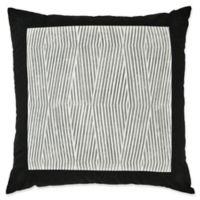 Laundry by SHELLI SEGAL® Palma European Pillow Sham in Black/White