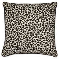Laundry by SHELLI SEGAL® Palma Leopard Throw Pillow in Black/White