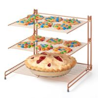 Nifty Copper 3-Tier Cooling Rack
