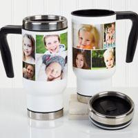 Create a Photo Collage 14 oz. Commuter Travel Mug