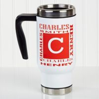 Name Style 14 oz. Commuter Travel Mug