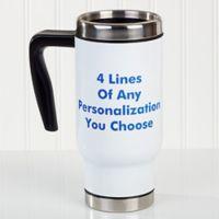 You Name It 14 oz. Commuter Travel Mug