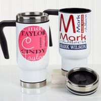 Personally Yours 14 oz. Commuter Travel Mug