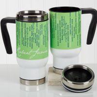 Cascading Names 14 oz. Commuter Travel Mug