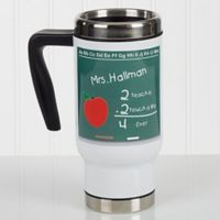 Chalkboard Teacher 14 oz. Commuter Travel Mug