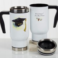 Cap & Diploma 14 oz. Commuter Travel Mug
