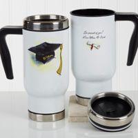 Cap & Diploma 14 oz. Commuter Travel Mug