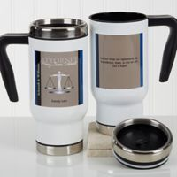 Legal Ease Quote 14 oz. Commuter Travel Mug