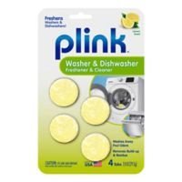 Plink Washer & Dishwasher Freshener & Cleaner Tablets (Set of 4)