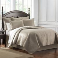 Waterford® Crystal King Quilt in Taupe