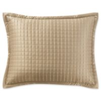 Waterford® Crystal King Pillow Sham in Gold