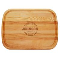 Carved Solutions Sports Bar & Grill 21-Inch x 15-Inch Everyday Board