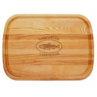 Carved Solutions Trout Lake House 21-Inch x 15-Inch Everyday Board