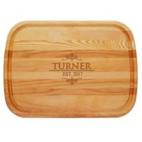 Carved Solutions Turner 21-Inch x 15-Inch Everyday Board