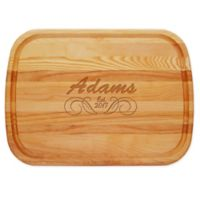 Carved Solutions Adams 21-Inch x 15-Inch Everyday Board