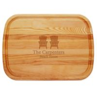 Carved Solutions Adirondack 21-Inch x 15-Inch Everyday Board