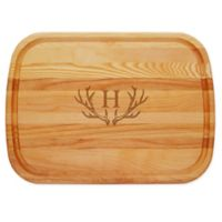 Carved Solutions Antler 21-Inch x 15-Inch Everyday Board
