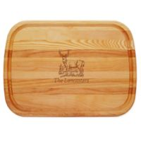 Carved Solutions Deer 21-Inch x 15-Inch Everyday Board
