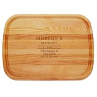 Carved Solutions Mancave 21-Inch x 15-Inch Everyday Board