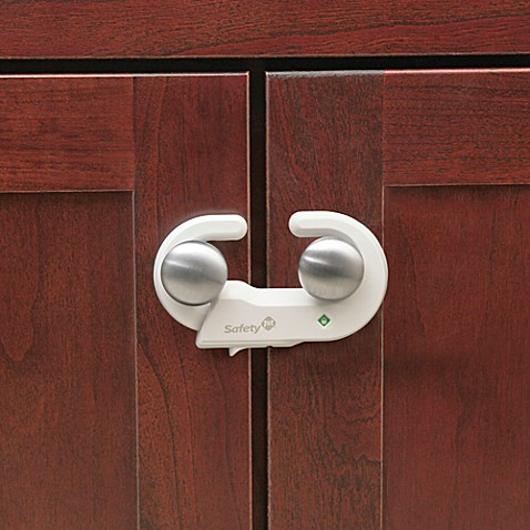 child locks for kitchen cabinets safety 1st 174 grip n go cabinet locks set of 2 buybuy baby 13535