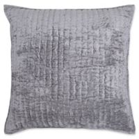 Villa Home Maison Square Throw Pillow in Grey