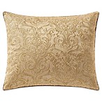 Waterford® Leighton Embroidered Oblong Throw Pillow in Gold