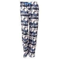 Hello Mello Large Lounge Pants in Black/White/Blue Grey