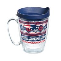 Tervis® NFL New England Patriots Ugly Holiday Sweater 16 oz. Mug with Lid