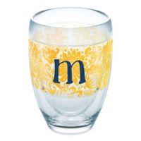 "Tervis® Blooming Initial ""M"" 9 oz. Wrap Tumbler"