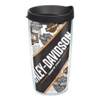 Tervis® Harley Davidson Repeat Pattern 16 oz. Wrap Tumbler with Lid