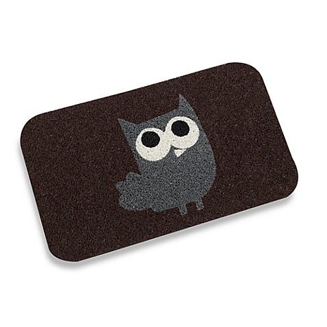 Kikkerland 174 18 Inch X 30 Inch Owl Door Mat Bed Bath Amp Beyond