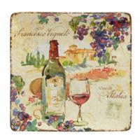 Certified International Vino Square Platter