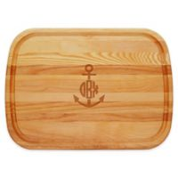 Carved Solutions Anchor 21-Inch x 15-Inch Everyday Board