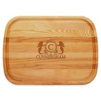 Carved Solutions Mermaid 21-Inch x 15-Inch Everyday Board