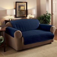 Innovative Textile Solutions Microfiber XL Sofa Protector in Navy