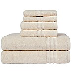 Loft by Loftex Modern Home Trends 6-Piece Towel Set in Chalk