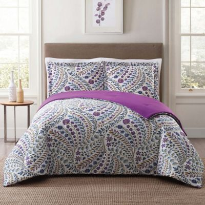 style 212 nealy king comforter set in blue