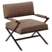 INK+IVY® Zig Zag Lounge Chair in Brown